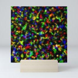 Abstract Disco Foil Mini Art Print