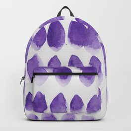 18 | 190321 Watercolour Abstract Painting Backpack