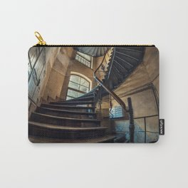 Old forgotten staircase Carry-All Pouch