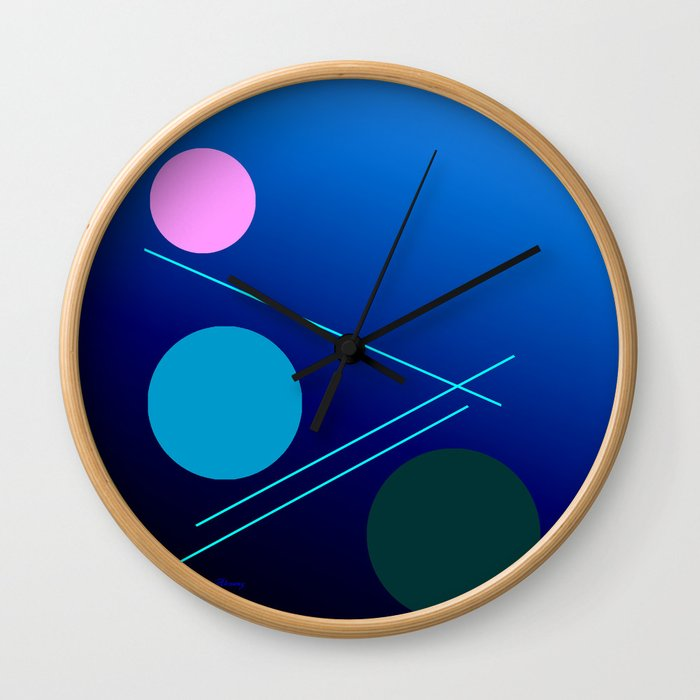 The 3 dots, power game 18 Wall Clock
