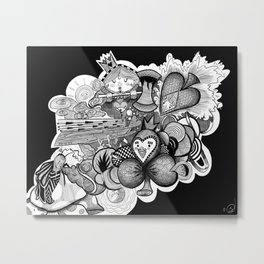 Wonderland: Beginnings Metal Print