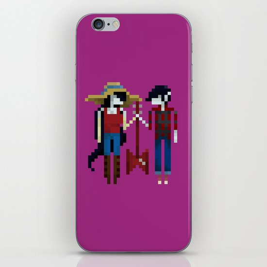 The Vampire Queen and King iPhone & iPod Skin