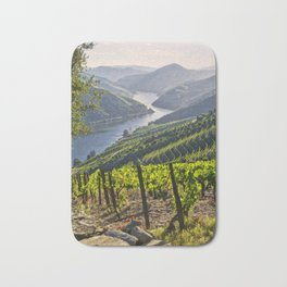 Vineyards along the Douro Valley, Portugal Bath Mat