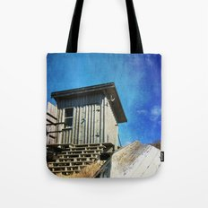 Fishing Shack Tote Bag