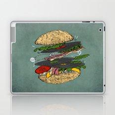 Vinyl burger Laptop & iPad Skin
