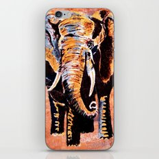 Quilted African Life. iPhone & iPod Skin