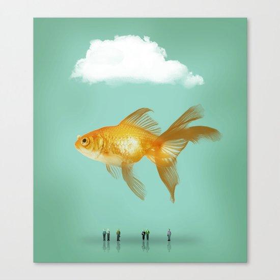 BALLOON FISH  III Canvas Print