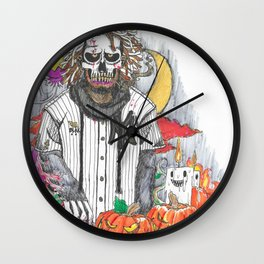 King Of The Hallows. Wall Clock