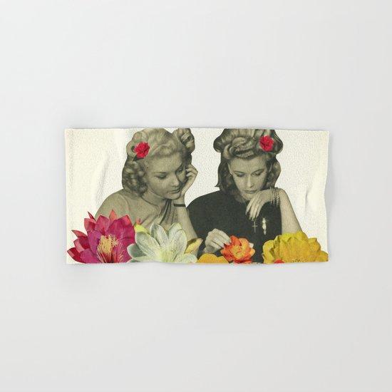 Flower Collectors Hand & Bath Towel
