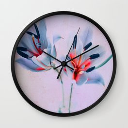 The flowers of my world Wall Clock