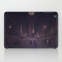 gotham iPad Cases featuring Gotham Nights by Ed Burczyk