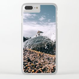 Element: Water (003) Clear iPhone Case