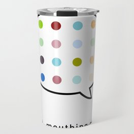 Damien Hirst, outspoken again! Travel Mug