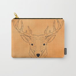 Deer Lines Carry-All Pouch
