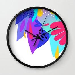Summer tropical Wall Clock
