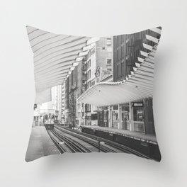 Chicago El Throw Pillow