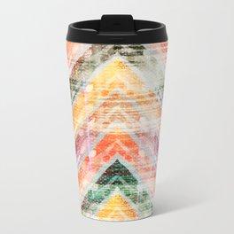 Sun Kissed Chevron Travel Mug