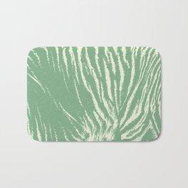Tiger print mint Bath Mat