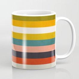 modern abstract stripe geometric Coffee Mug