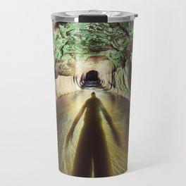 Into the Tunnel Travel Mug