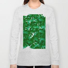 Green Leaves 2 Long Sleeve T-shirt