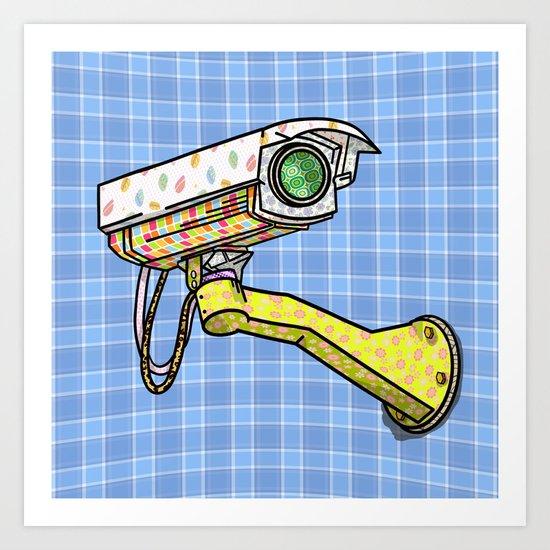 Security Camera Art Print