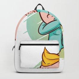 Baby Dabbing Backpack