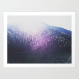 Lena Lake 01 Art Print