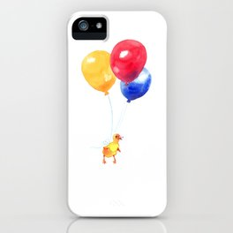 Duckling can Fly iPhone Case