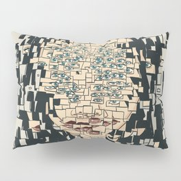 Fragmented Pillow Sham