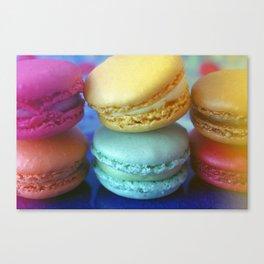 Macaron Rainbow 2 Canvas Print