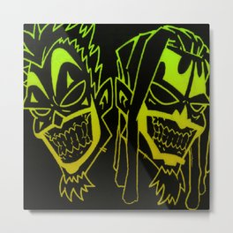 Icp heads Metal Print