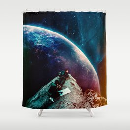 Nothing Turns Out As Expected Shower Curtain
