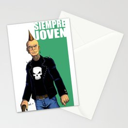 Always young / Siempre joven Stationery Cards