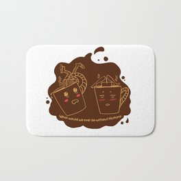 Addicted Coffee Bath Mat