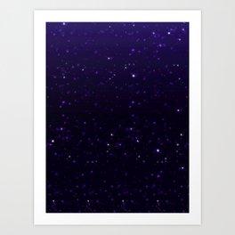 the galaxy's edge [no text] Art Print