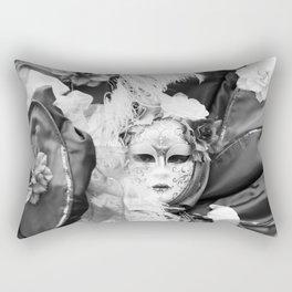 Venetian carnival mask D - Lady Nature Rectangular Pillow