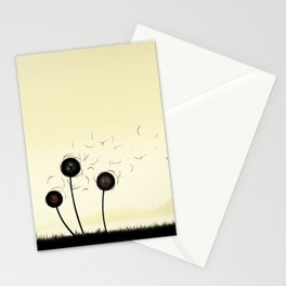 The violence of the wind Stationery Cards