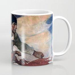 """Pirate Attack"" by Frank E Schoonover Coffee Mug"