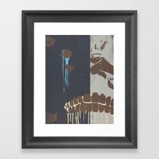 CHOMP Framed Art Print