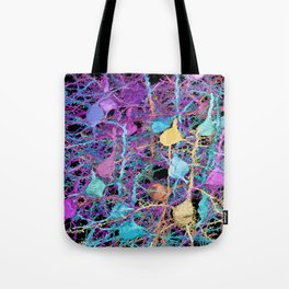 Cortical Brain Neurons by Kfay Tote Bag