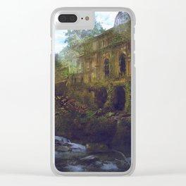 Barcelona Aftermath: El Liceu i les Rambles Clear iPhone Case