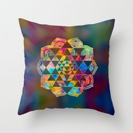 Sri Yantra  / Sri Chakra Throw Pillow