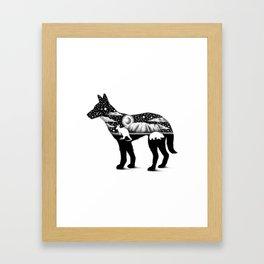 DINGO FROM DOWN UNDER Framed Art Print