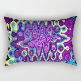 Color Madness Rectangular Pillow
