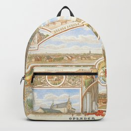 Vintage greeting from Opladen Backpack