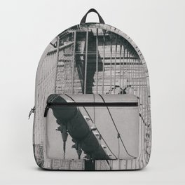Brooklyn bridge, architecture, vintage photography, new york city, NYC, Manhattan view Backpack