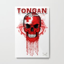 To The Core Collection: Tonga Metal Print