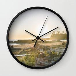 Tofino, British Columbia Wall Clock