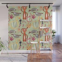 Rain forest animals 004 Wall Mural